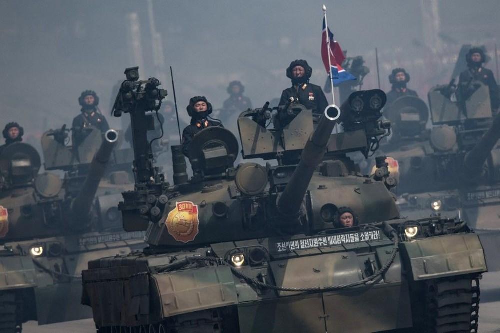 Kuzey Kore tarihi geçit törenine hazırlanıyor - 4