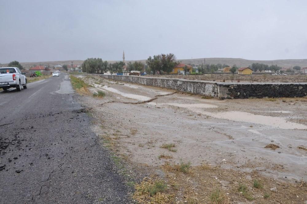AFAD inceleme başlattı: Konya'da yağmur sonrası dev yarıklar oluştu - 5