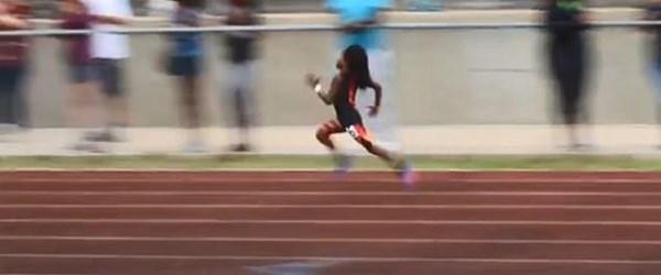 Dünyanın en hızlı çocuğu (100 metreyi 13 saniyede koşuyor)