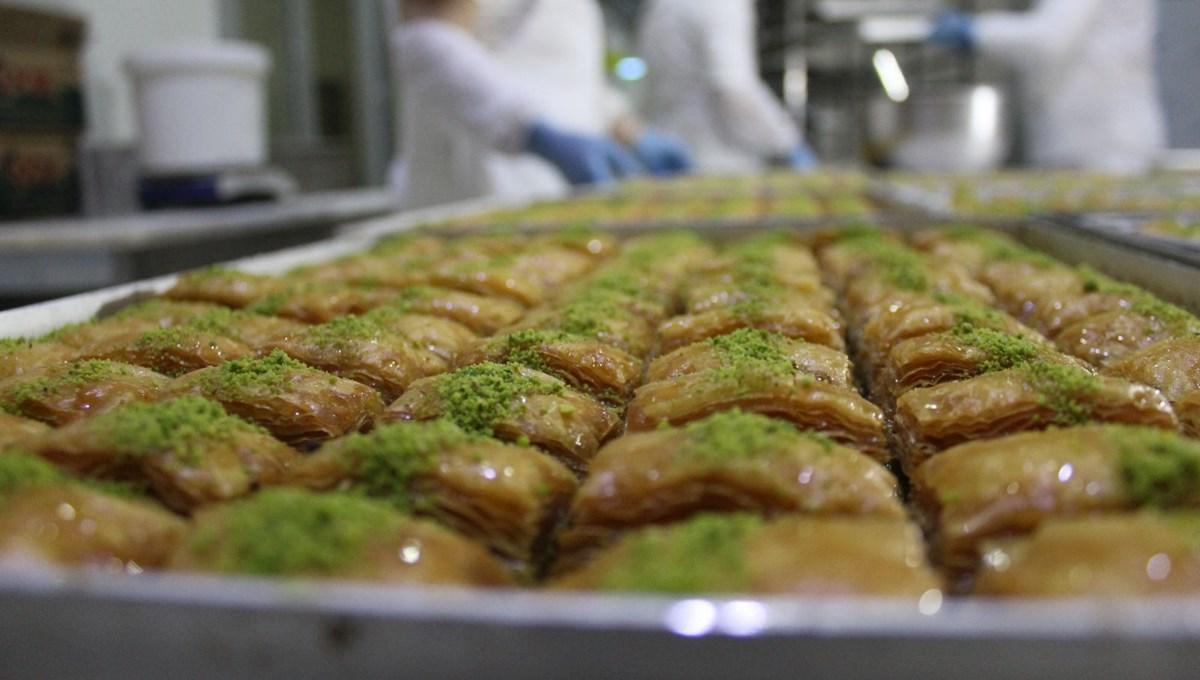 Bayram öncesinde Halk Ekmek'in baklava üretimi iki katına çıktı