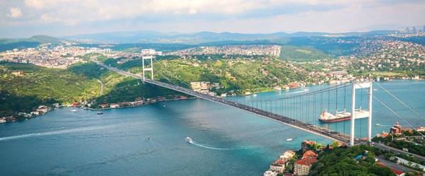 İstanbul'un havadan fotoğrafları
