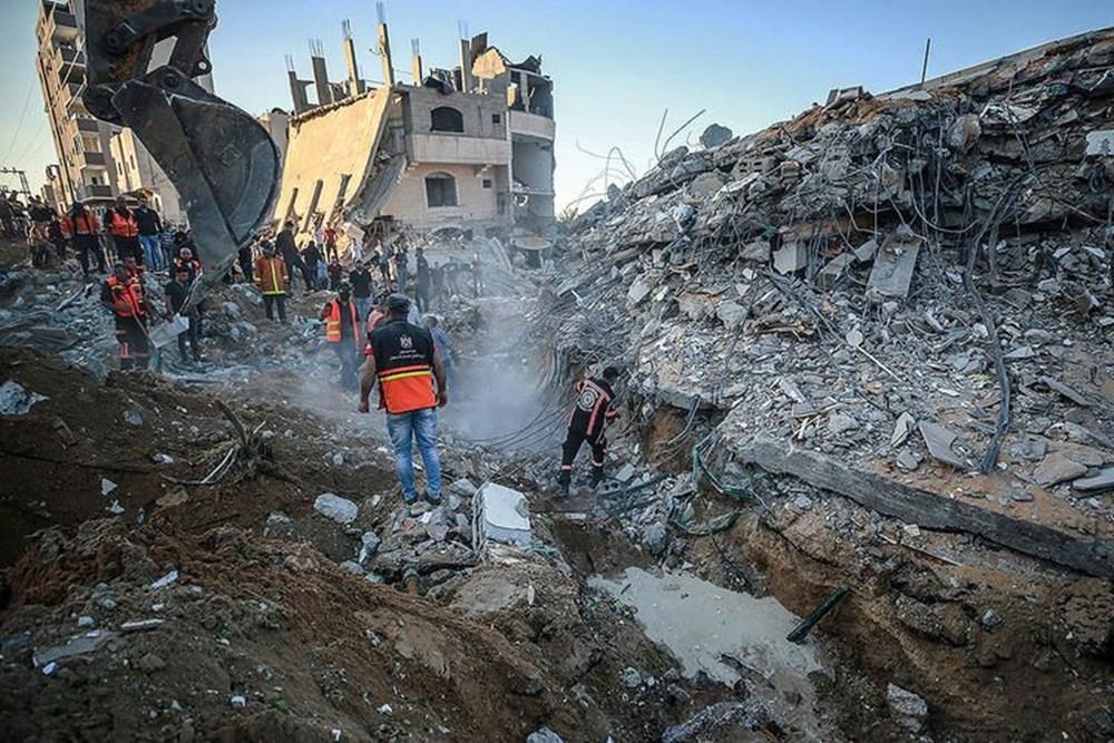 Hamas'ın Gazze'de kullandığı tüneller görüntülendi: İsrail'in hedefinde - 30