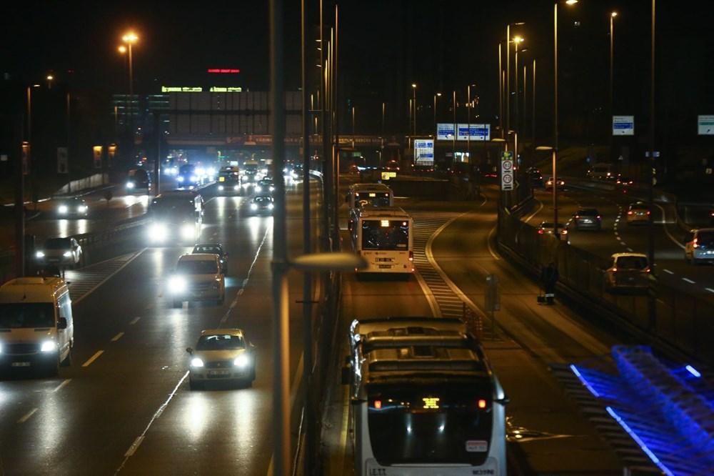 İstanbul'da sokağa çıkma kısıtlamasının ardından hayat normale döndü - 12
