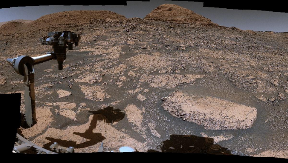 NASA'nın Mars'ın panoramik görüntüsünü paylaştı