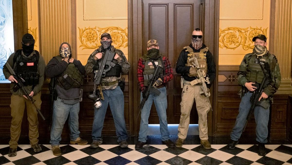 ABD'de Michigan Valisi'ni kaçırmayı planlayan örgüt çökertildi