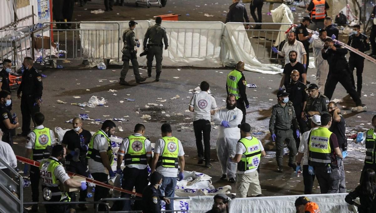 SON DAKİKA:İsrail'in kzueyinde bayram kutlama alanında izdiham: 38 ölü, 65 yaralı