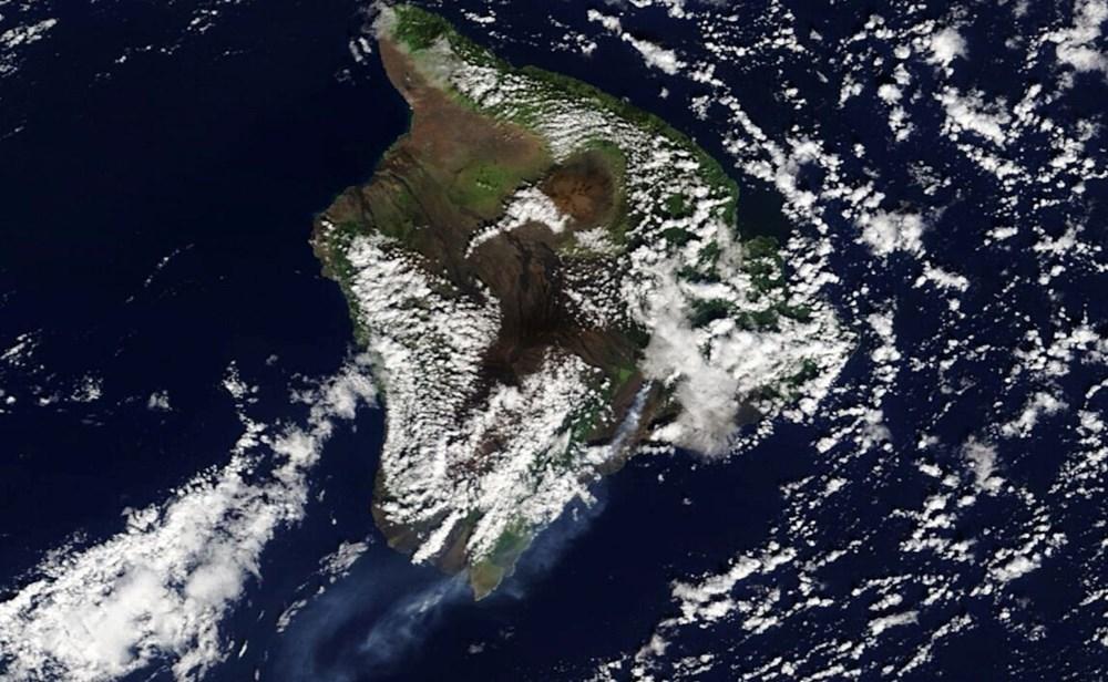 Kilauea Yanardağı'nda patlamaları: Krater gölü buharlaştı - 11