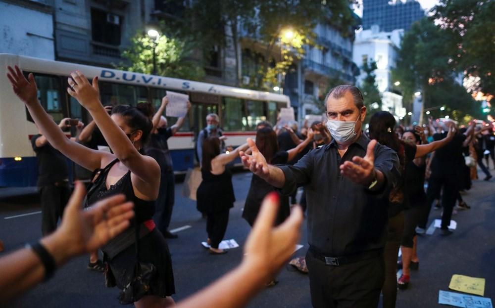Arjantin'de dansçıları pandemi isyanı - 5