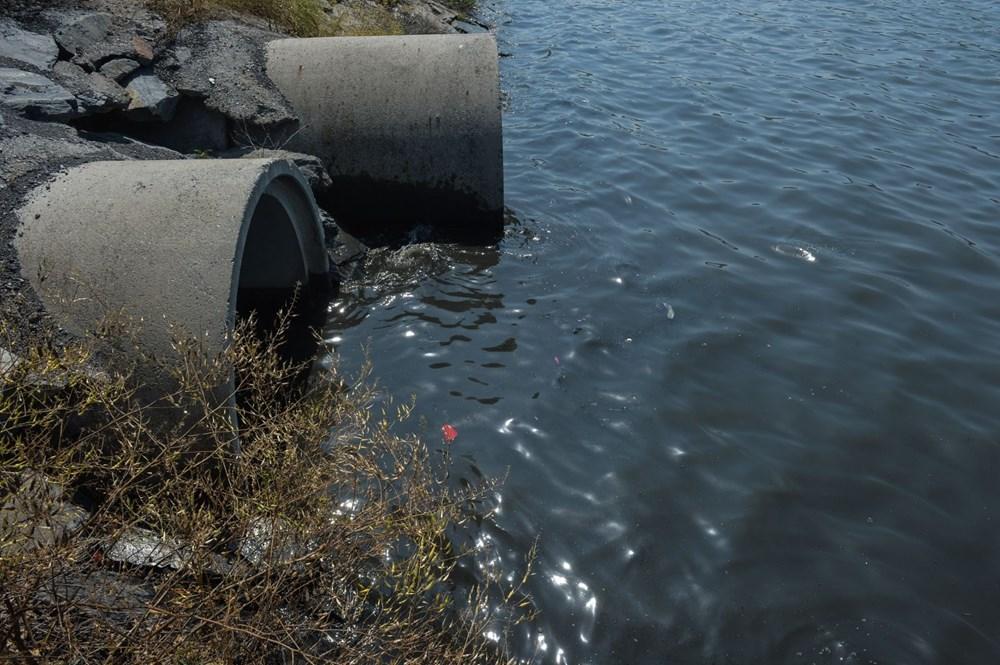 Küçükçekmece Gölü'nde atık iddiası - 6