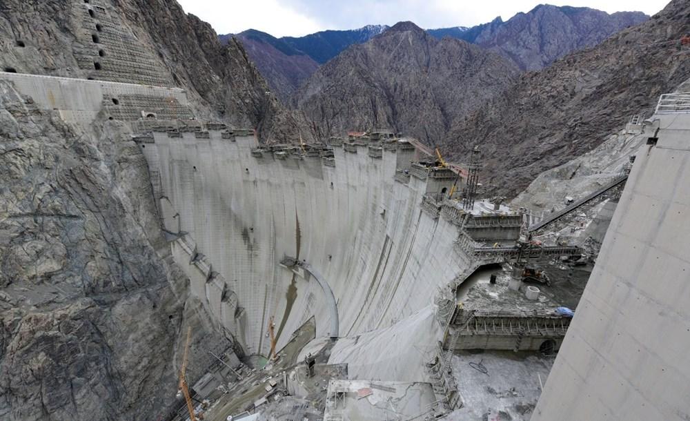 Yusufeli Barajı'nda dökülen 4 milyon metreküp betonla rekor kırıldı - 4