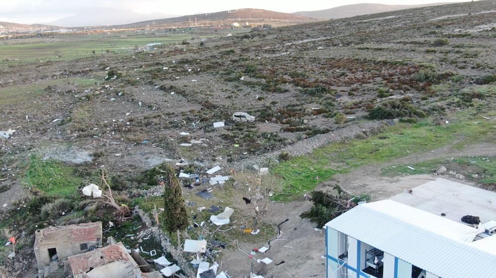 İzmir'de hortum felaketinin boyutları gün ağarınca ortaya çıktı - 25