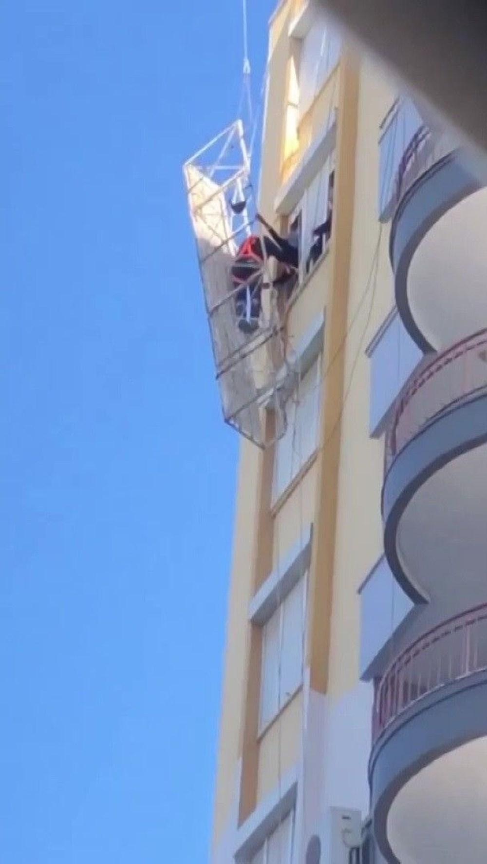 8'inci katta ölümle burun buruna - 4