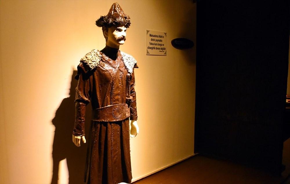 Bursa'nın en tatlı müzesi: 8 ton çikolata kullanıldı (Bursa Çikolata Müzesi) - 12