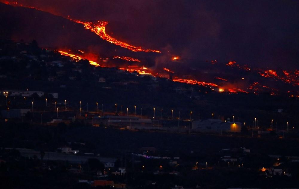 Kanarya Adaları'nda aktif hale gelen yanardağda patlamaların şiddeti arttı - 9