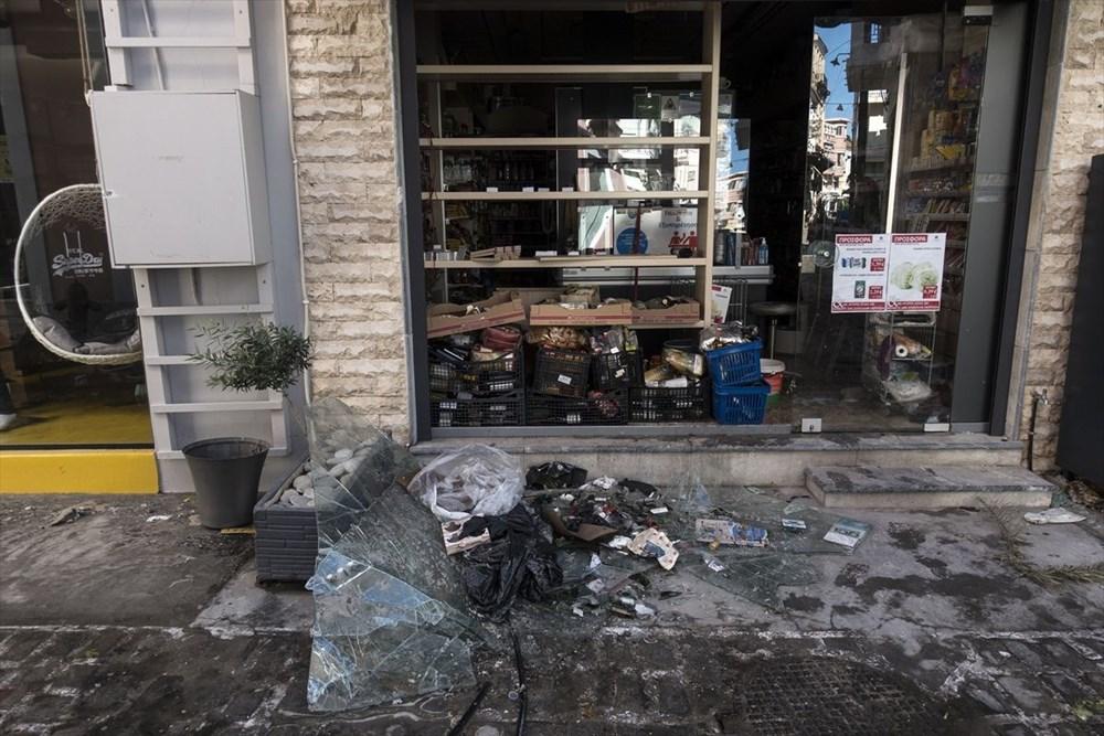 Depremin vurduğu Yunan adası Sisam'da son durum - 37