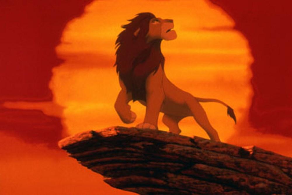 это картинка короля льва на скале чего как включать
