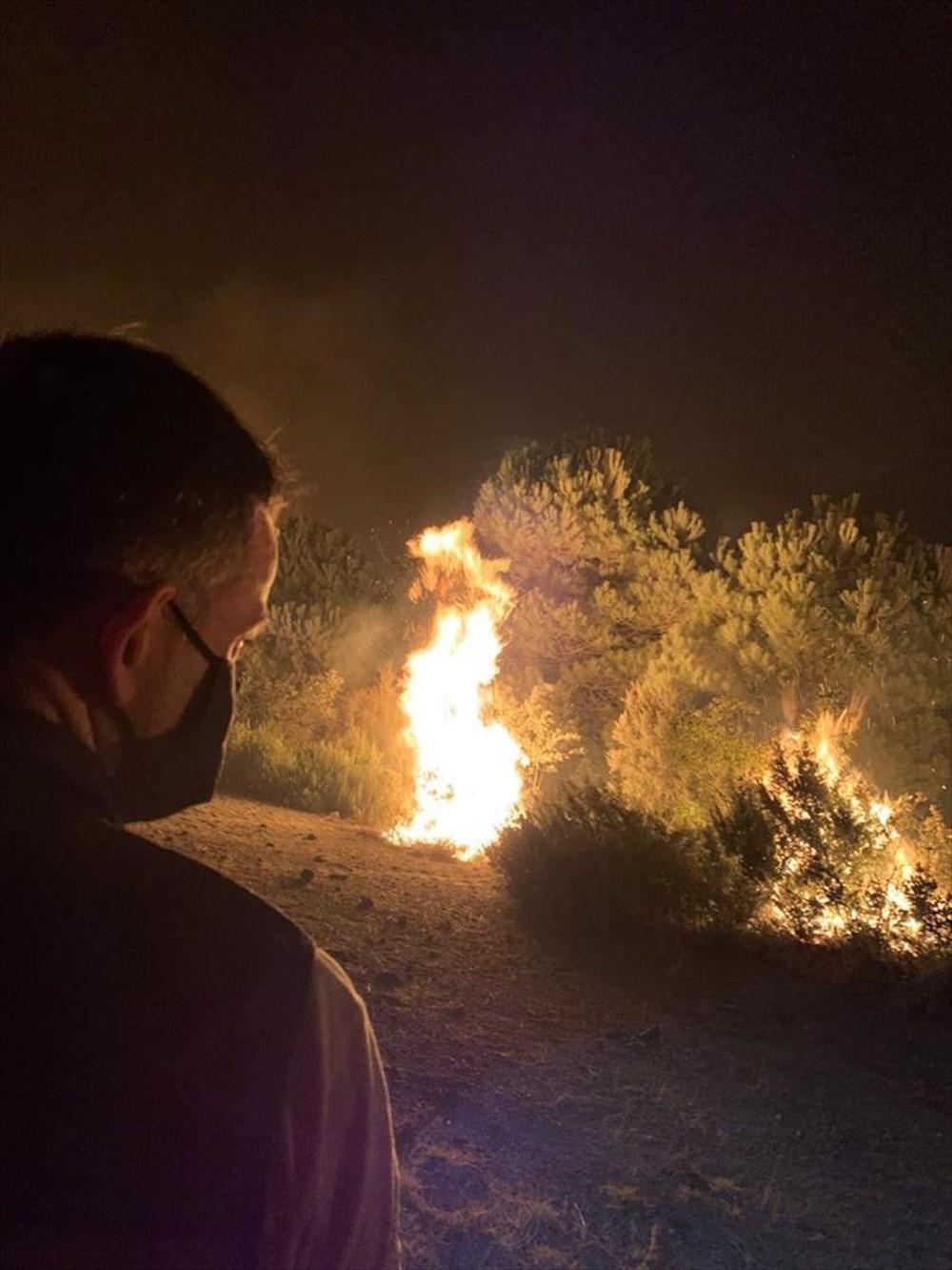 Hatay'daki yangın yeniden alevlendi - 6