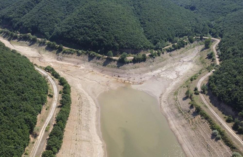 İstanbul'un su ihtiyacını karşılayan Trakya'daki barajlar kurudu - 12