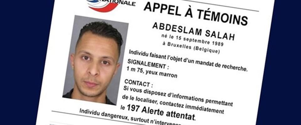 Paris saldırganlarından Salah Abduselam Belçika'nın başkenti Brüksel'de aranıyor.