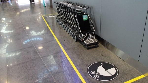 İstanbul Havalimanı'nda ücretsiz bebek arabası uygulaması