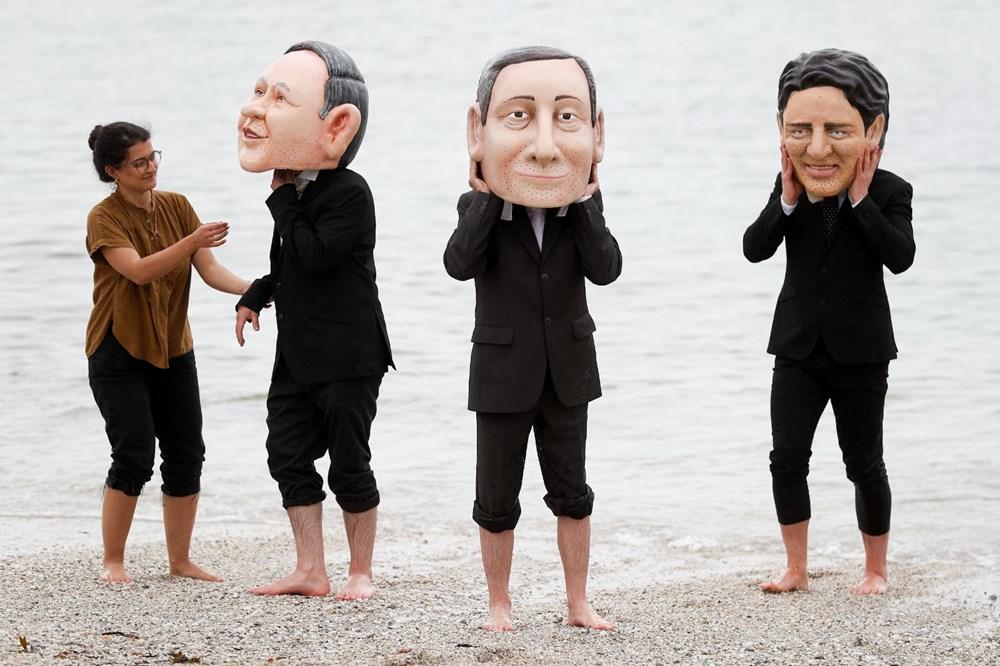 """G7 Zirvesi'nde """"küresel aşı eşitsizliği"""" protestosu - 7"""