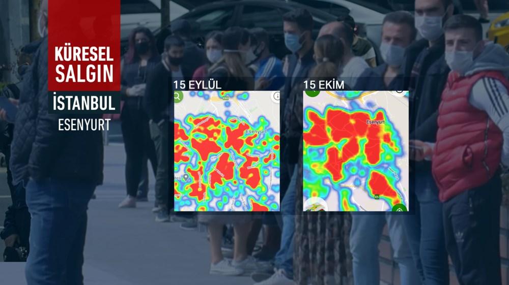 İstanbul'da vakalar yine arttı: Harita kırmızıya büründü - 3