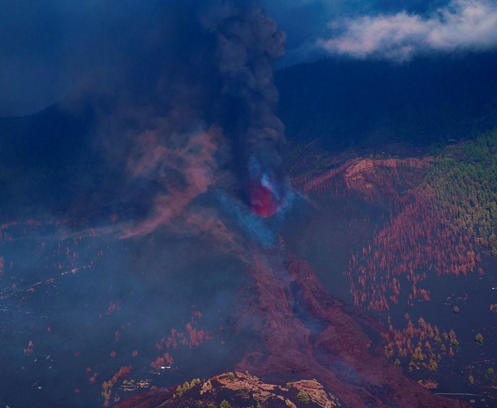 Kanarya Adaları'nın mucize evi: Etrafındaki her şey küle dönmesine rağmen hiçbir zarar görmedi - 7