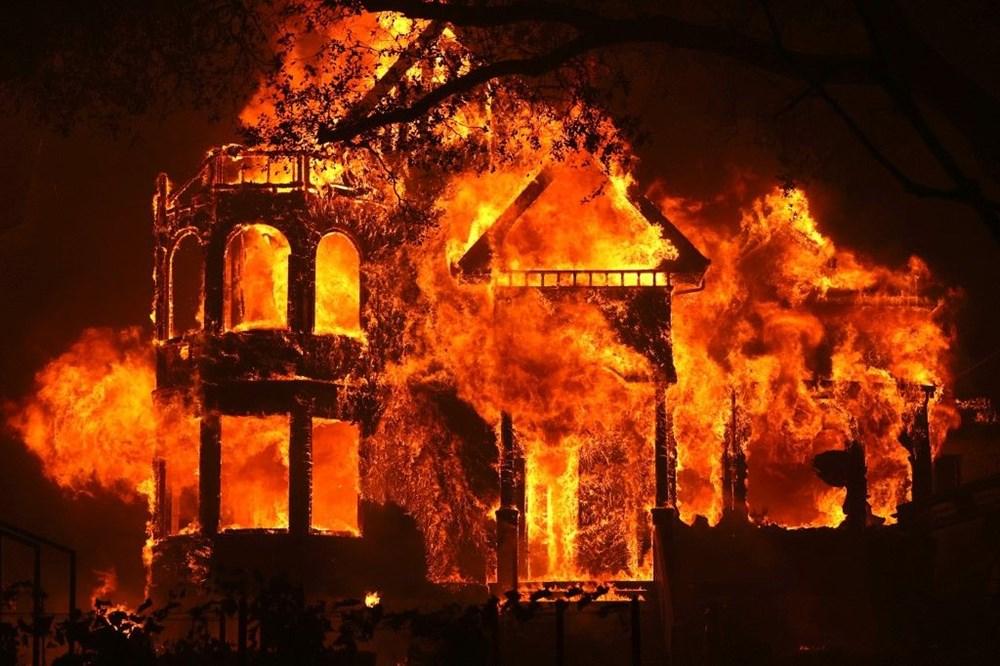 California'da yangınlar bitmiyor - 7