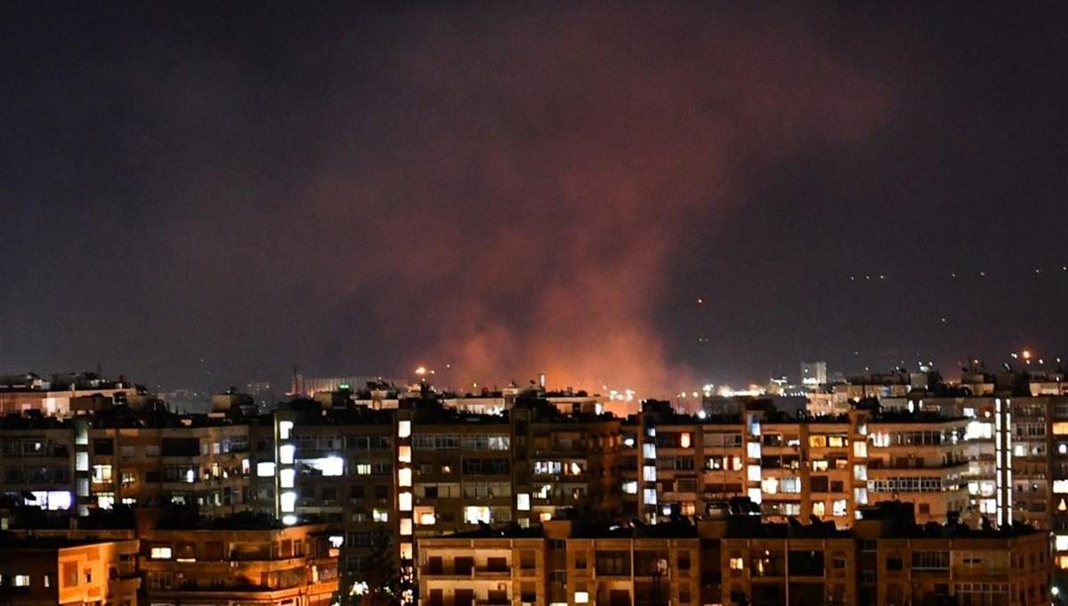 İsrail'den Suriye'nin başkenti Şam'a hava saldırısı
