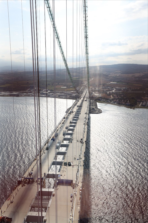 Bakan 1915 Çanakkale Köprüsü üzerinden Anadolu'dan Avrupa'ya geçti - 5