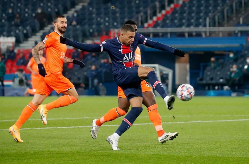 PSG'ye 5-1 yenilen Başakşehir Avrupa'ya veda etti - 8