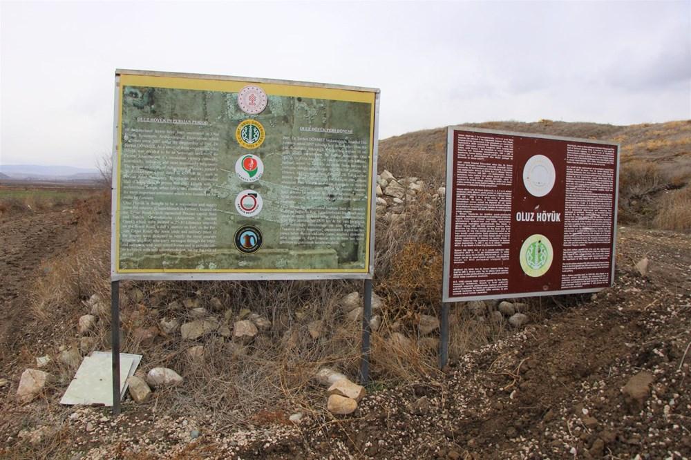 Amasya'da 2 bin 600 yıllık 'Kubaba Sunağı' keşfedildi - 5