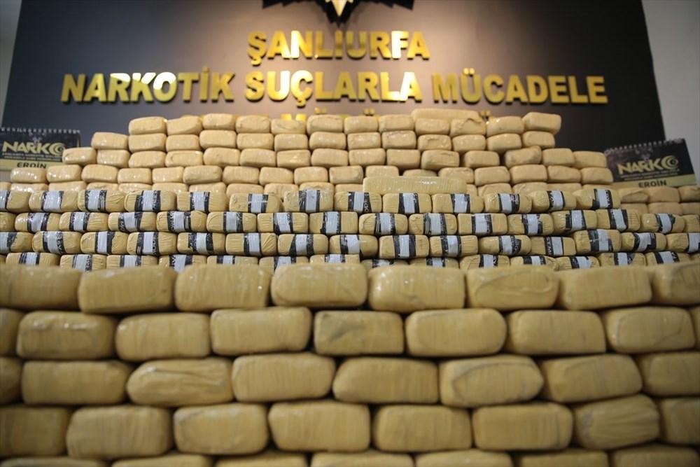 Şanlıurfa'da 275 kilogram eroin ele geçirildi: Piyasa değeri 20 milyon lira - 2
