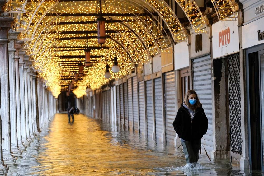 Venedik'te yine su baskını: Milyar dolarlık proje işe yaramadı - 3