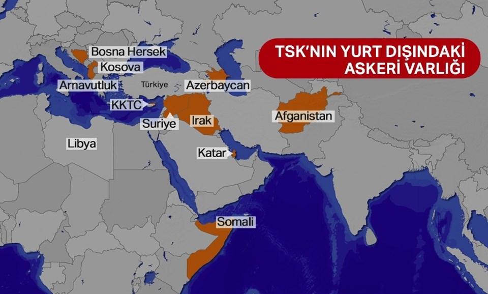 Libya'nın da eklenmesiyle Türk askerinin bulunduğu ülke sayısı 11'e yükselecek.