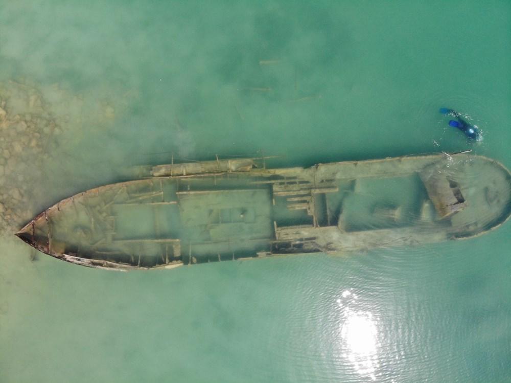 Bir batık gemi daha gün yüzüne çıkartıldı - 2