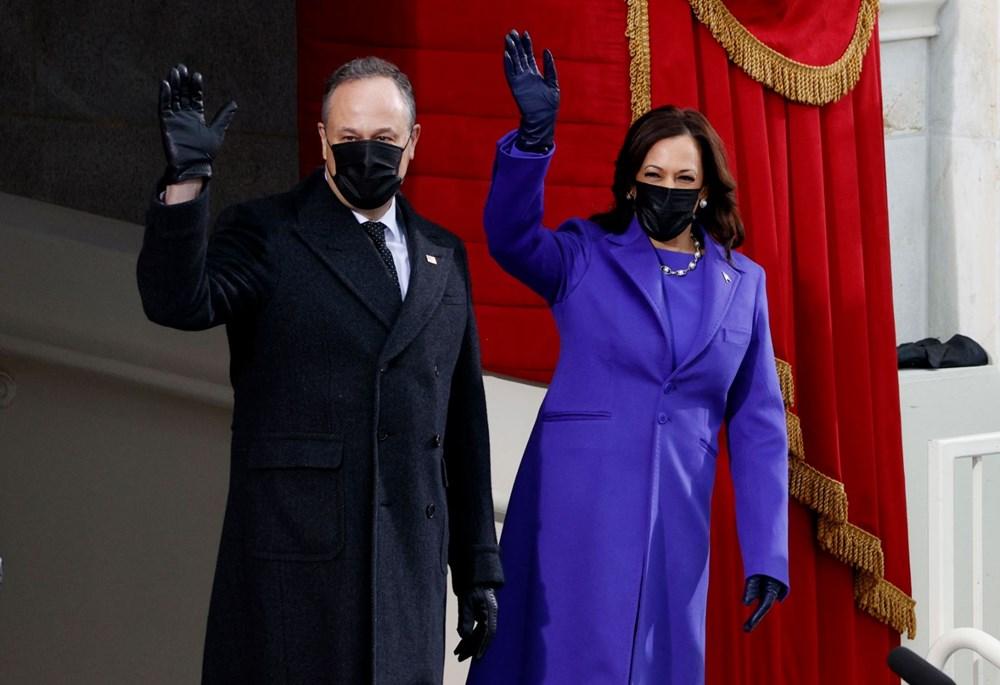 Joe Biden'ın yemin töreninden kareler (ABD'nin 46. Başkan Joe Biden göreve başladı) - 11