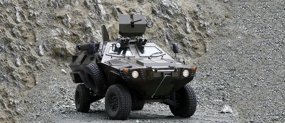 Dijital birliğin robot askeri Barkan göreve hazırlanıyor (Türkiye'nin yeni nesil yerli silahları) - 208