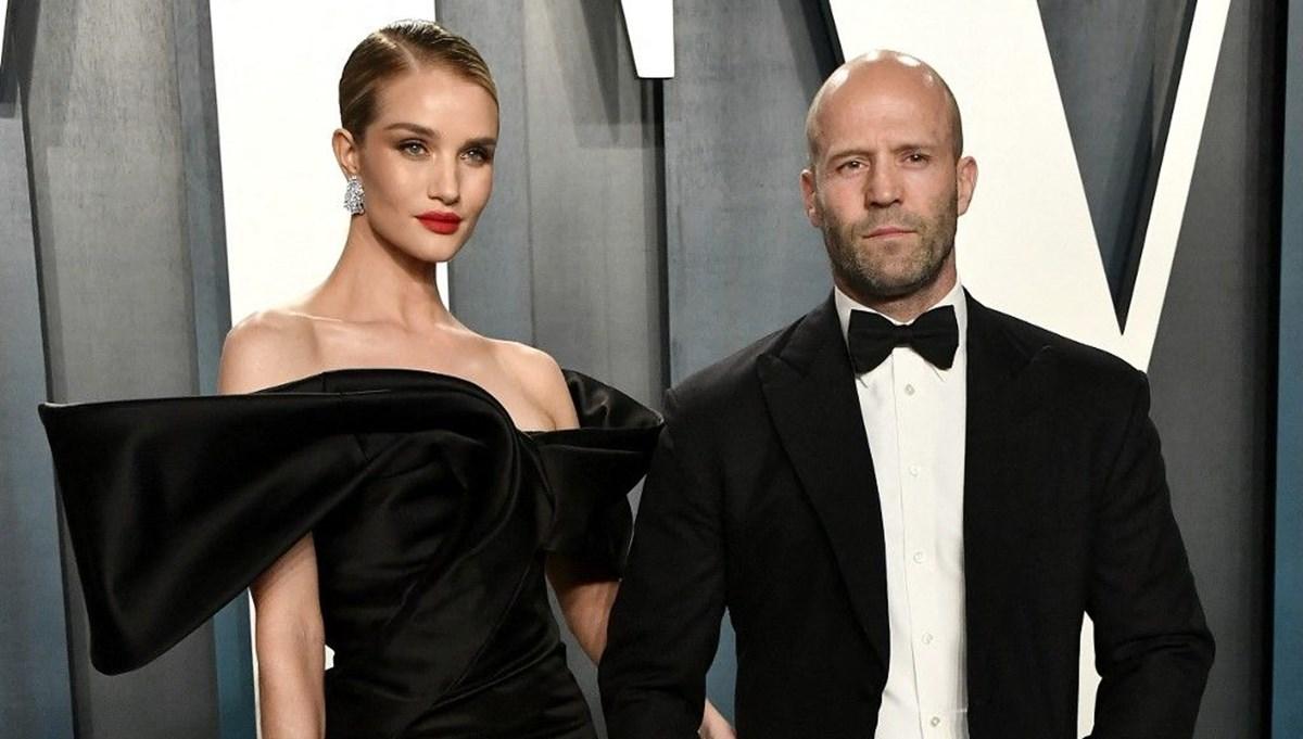 Jason Statham'ın model eşi Rosie Huntington Whiteley: Türkiye'ye aşık olduk