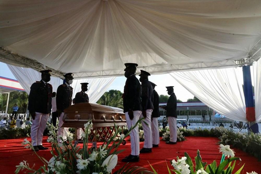 Suikasta uğrayan Haiti Devlet Başkanı'na cenaze töreni düzenlendi - 4