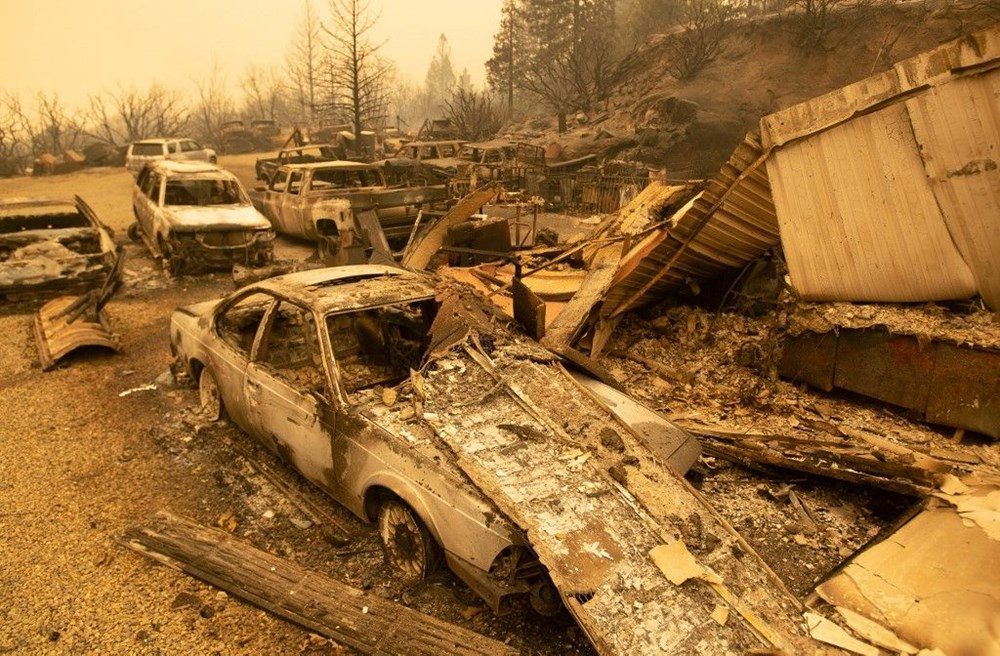 ABD'nin batısındaki orman yangınlarında ölü sayısı 15'e yükseldi - 6