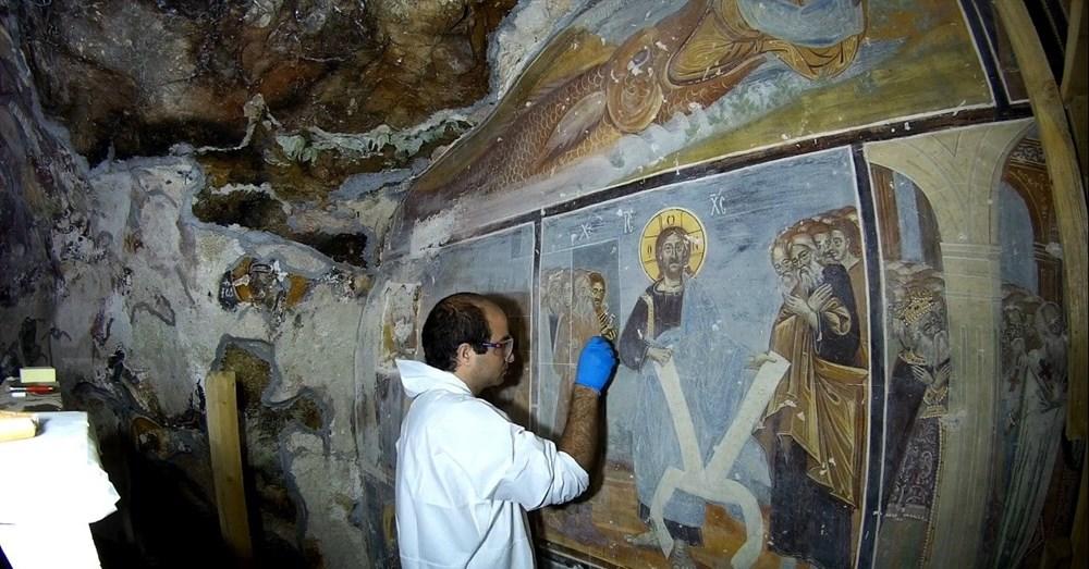 Sümela Manastırı'nın 5 yıllık restorasyon serüveni - 7
