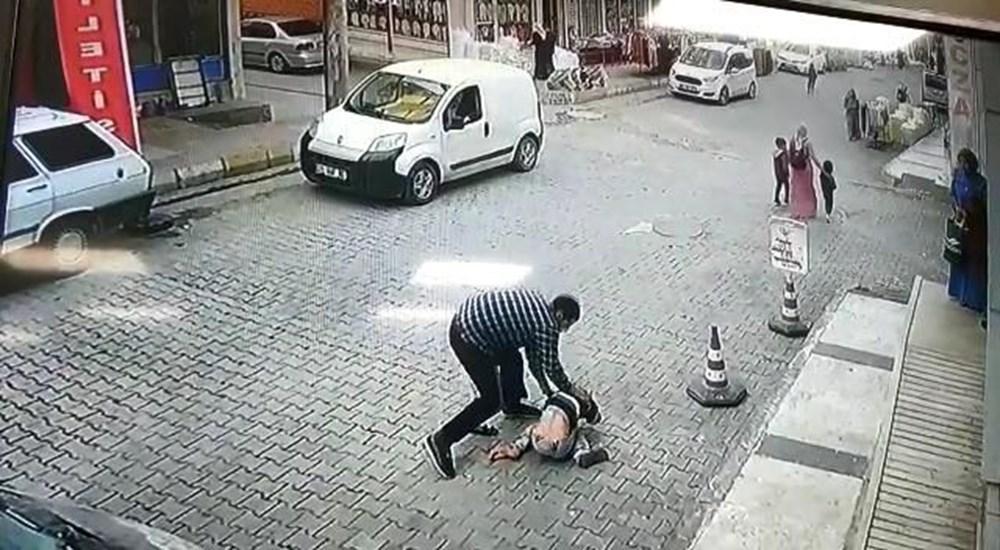 Şanlıurfa'da işyerinden su içen çocuğa sinirlenip yere çarptı - 5