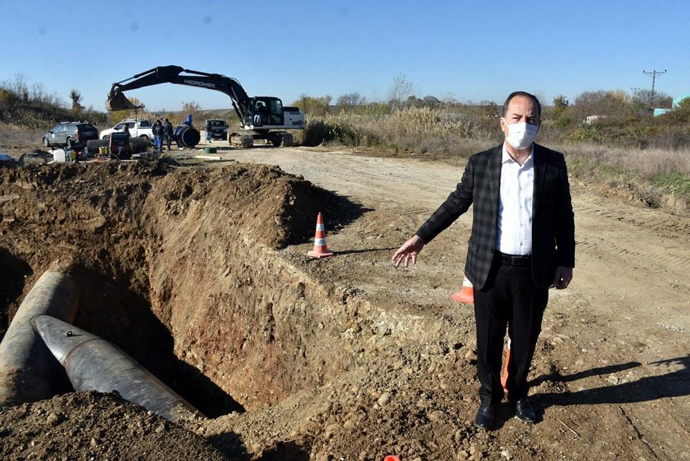 Edirne'nin içme suyunu sağlayan baraj kurudu: 36 saatlik kesinti - 4