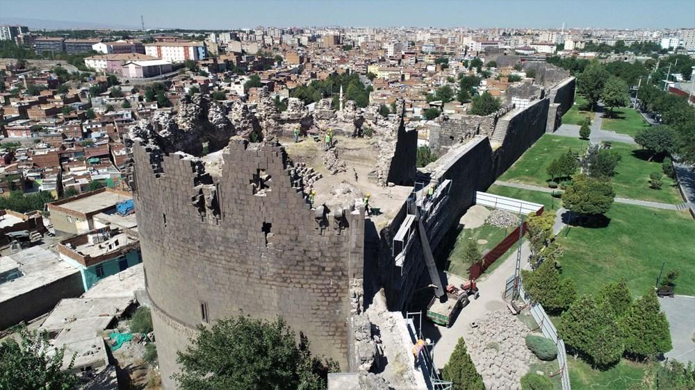 UNESCO mirası Diyarbakır Surları'nda 500 günlük restorasyon başladı - 8