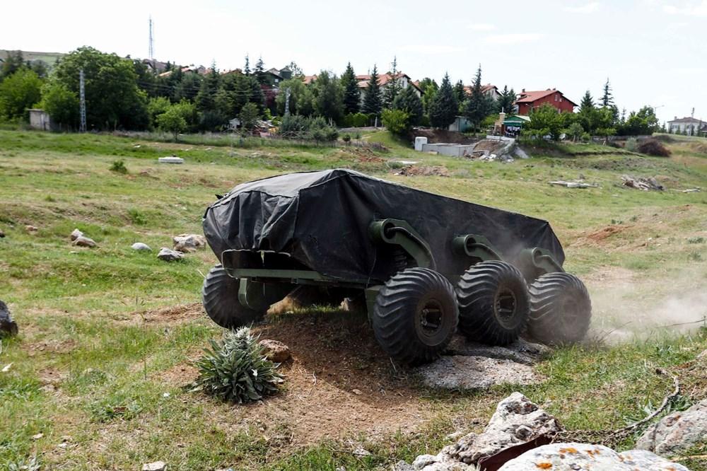 Dijital birliğin robot askeri Barkan göreve hazırlanıyor (Türkiye'nin yeni nesil yerli silahları) - 123