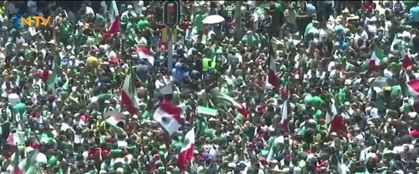 Meksika'nın golü depreme sebep oldu