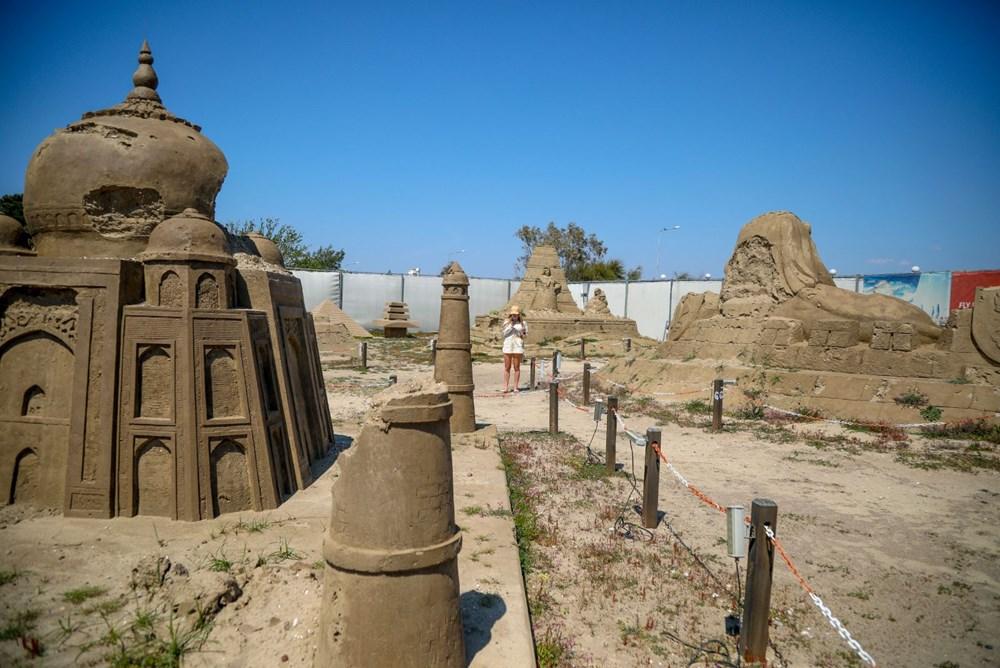 Atlantis, kum heykellerle canlanacak - 4
