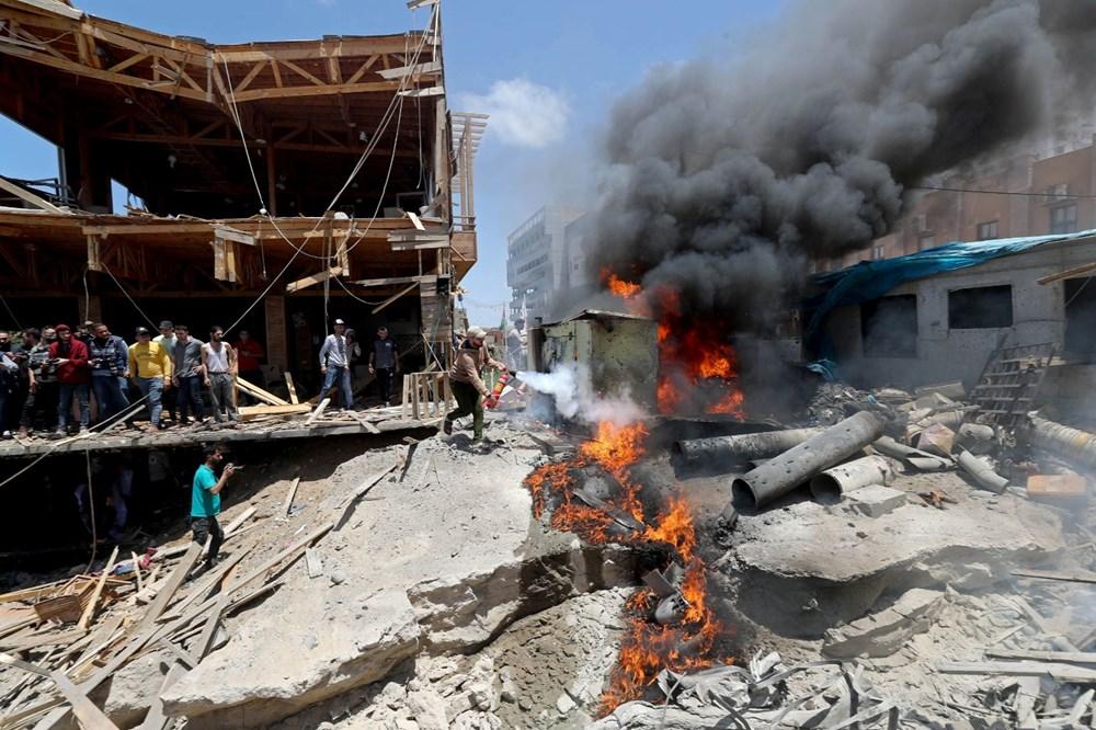 İsrail'in Gazze'ye saldırılarının bir haftalık bilançosu: 200 ölü, bin 307 yaralı - 9