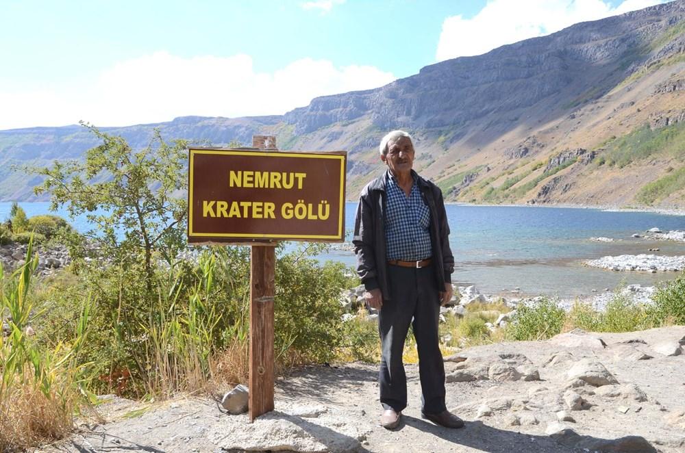 Nemrut'un 48 yıllık gönüllü bekçisi - 3